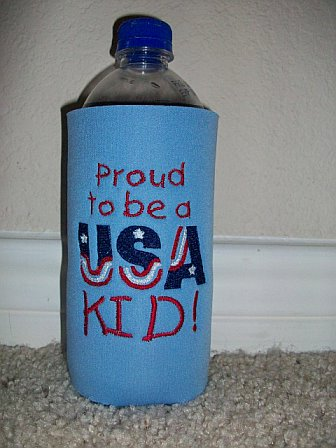 Kids 4th of July Koozie