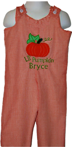 Custom Boutique Pumpkin Halloween Longall