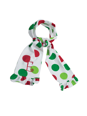 Kelly's Kids Holiday Dot Scarf
