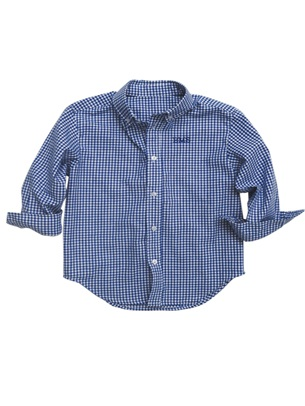 Kelly's Kids Boys Button Down Shirt Size 6-7