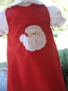 Christmas Santa Aline Dress