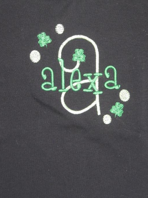 Custom Initial Name St. Patrick's Day Shirt