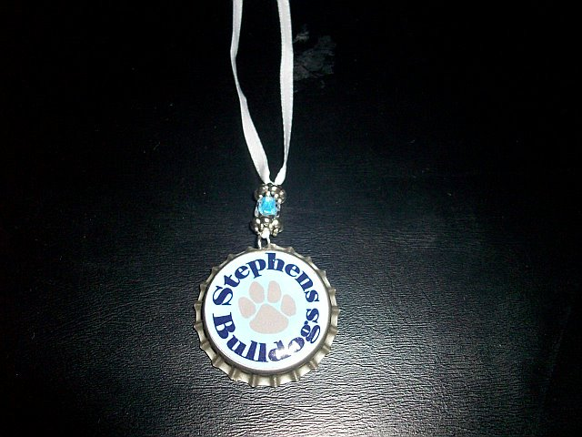 Stephens Elem. School Spirit Custom Bottle Cap Necklace