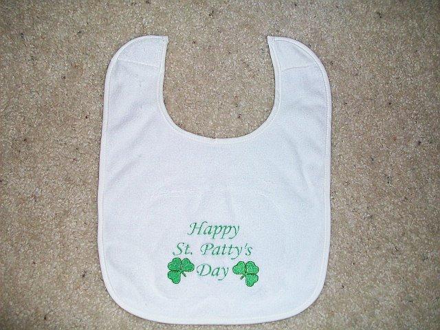 St, Patrick's Day Bib
