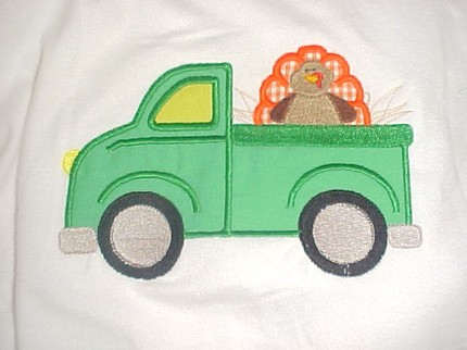 Custom Thanksgiving Turkey Truck Shirt